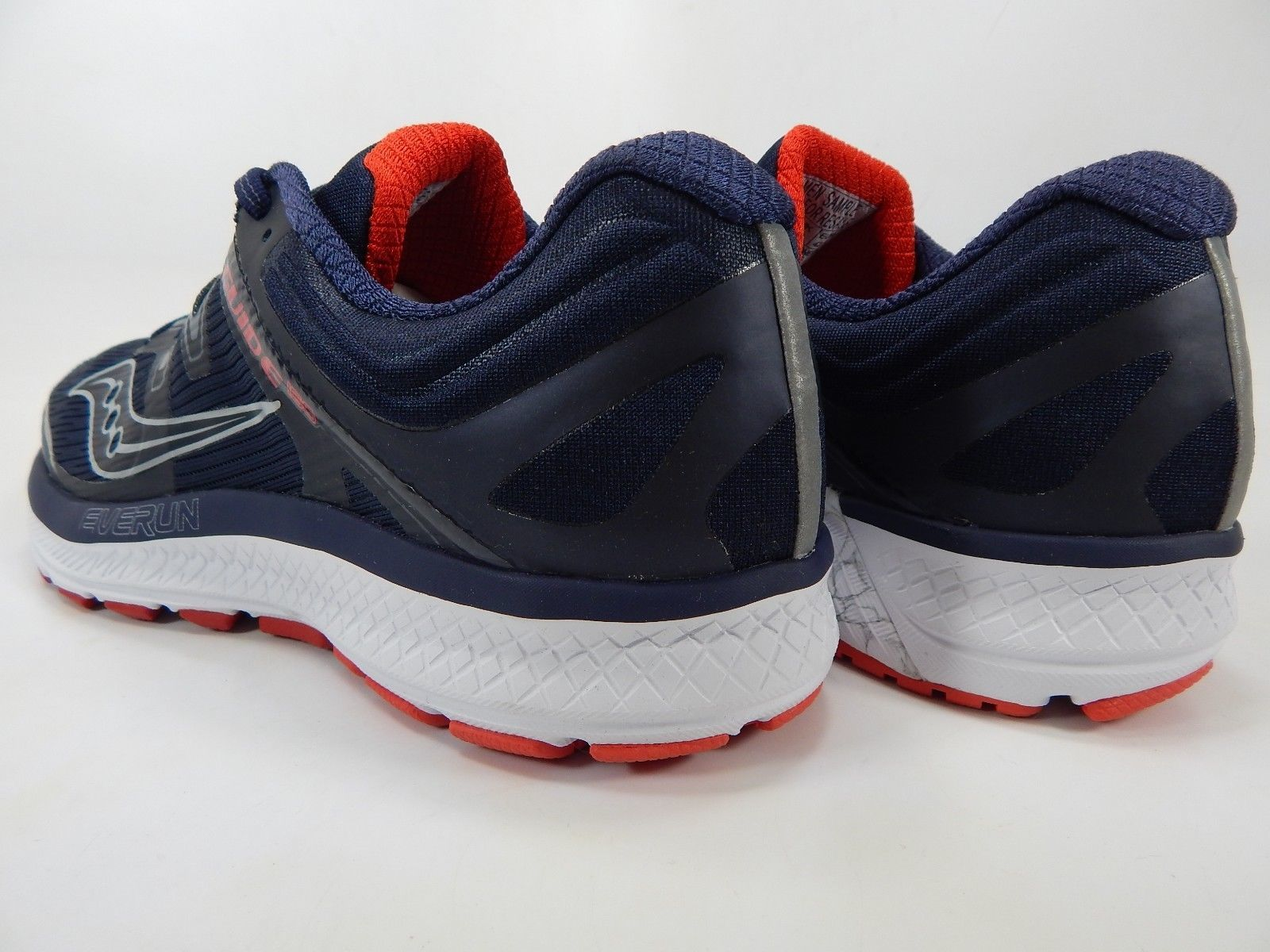 Saucony Guide ISO Size US 9 M (D) EU 42.5 Men's  Running Shoes Red Navy S20415-3