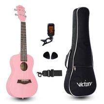 VI VICTORY Ukulele Mahogany Kit-Pink - $69.99+
