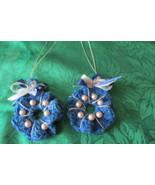 Handmade Christmas Wreath Ornaments -  #12 - $3.50
