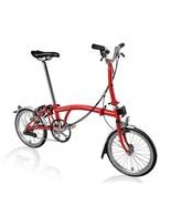 New Brompton M6L 2017 Folding Bike RED WORLDWIDE - $1,629.66