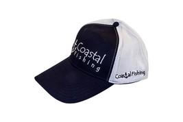 SnapBack Dark Blue & White Coastal Hat | Comfortable - Quick Dry - Adjus... - $15.00