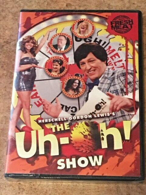 The Uh-Oh! Show (DVD, Herschell Gordon Lewis Film) BRAND NEW / FACTORY SEALED