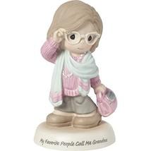 Precious Moments Favorite People Call Me Grandma Bisque Porcelain 183008... - $70.34