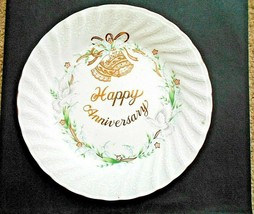 Lefton China Happy Anniversary Plate 1983 #04774 - $5.93