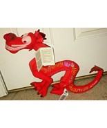 Disney Store Exclusive Wisdom Collection Mushu Plush February Limited Re... - $49.99