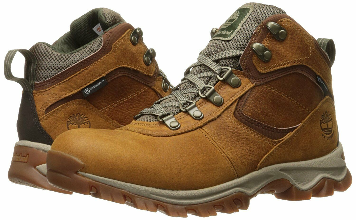 Men's Timberland MT MADDSEN MID WATERPROOF HIKING BOOTS, TB0A1J1N230 Sizes 8-14