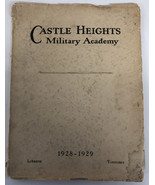 Castle Heights Military Academy 1928-1929 Recruitment Book Awesome! - $467.49