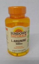 Sundown Naturals L-Arginine 500 mg 90 Capsules Exp 11/21 - $9.65