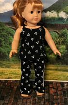 Yoga pants and tank top fits American girl and 18 inch doll - $23.00