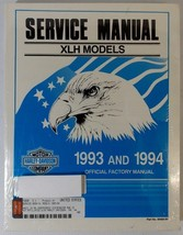 Harley Davidson XLH 1993-1994 Official Factory Service Manual - $67.32