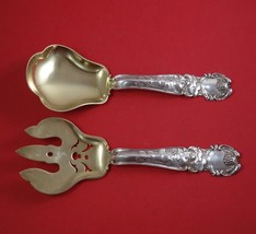 "H Series by Gorham Sterling Silver Salad Serving Set GW Fruit with Berries 9"" - $709.00"