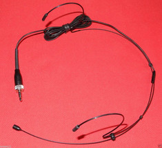 BLACK Double ear Headworn Headset Mic Microphone for SENNHEISER wireless... - $19.75