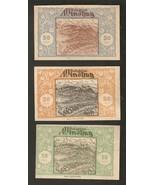 Austria gutschein D. Gemeinde windhag 50 & 20 & 10 Heller 1920 Notgeld L... - $7.29
