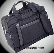 """16"""" Nylon Expandable Briefcase Computer Laptop Bag Soft Business Case Ca... - $37.94"""