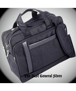 "16"" Nylon Expandable Briefcase Computer Laptop Bag Soft Business Case Ca... - $37.94"