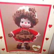 Chocolate Chip Doll Pattern Lollipop Lane Dumplin Designs Crochet 1984 C... - $9.99