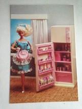Barbie VTG Postcard Barbie Doll Collector Christmas Gift Refrigerator Fr... - $14.60