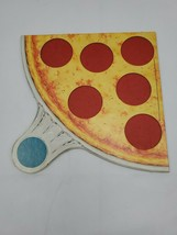 PIZZA PARTY Board Game REPLACEMENT blue Pizza ONLY Parker Brothers 1987 - $9.95