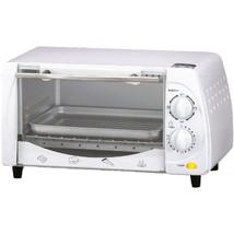 Brentwood 9-Liter (4 Slice) Toaster Oven Broiler (White) - $52.40