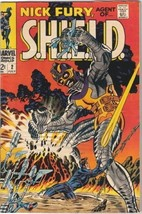 Nick Fury, Agent of S.H.I.E.L.D. Comic Book #2 Marvel Comics 1968 FINE - $25.07