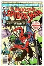 AMAZING SPIDER-MAN #161 comic book 1976-Nightcrawler-marvel NM- - $88.27