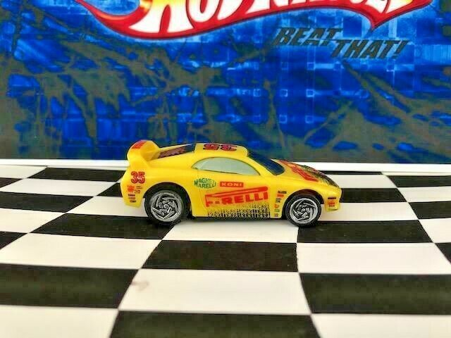 Hot Wheels X-V Racers Buzz Off 16977 #35 PIRELLI Tires Koni Magnet Marelli 1997