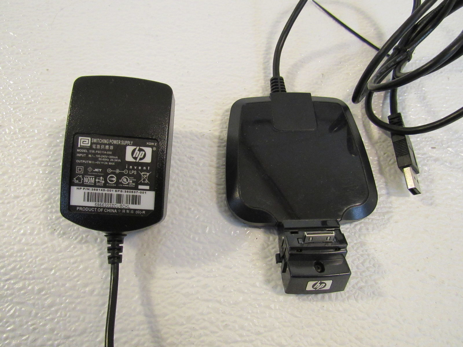 HP Charging Station Pocket PC Dock Includes Adapter PSC11A-050 HSTNH-F02X