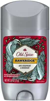 Primary image for Old Spice Hawkridge Mens Invisible Solid AntiPerspirant/Deodorant 2.6oz (4 PACK)