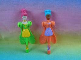 Vintage 1996 McDonald's 2 Sky Dancer Happy Meal Toy Replacement Figures - $1.73