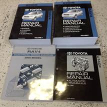 2005 Toyota RAV4 Rav 4 Service Shop Repair Workshop Manual Set Oem W Ewd & Trans - $395.99