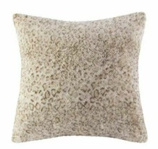 """20"""" x 20"""" Marselle Faux Fur Pillow Leopard - WHOLE PILLOW - NEW WITH TAGS image 2"""