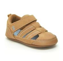 Baby Jungen Surprize Von Stride Rite Kellyn Hellbraun Sommer Sandalen Sneakers S