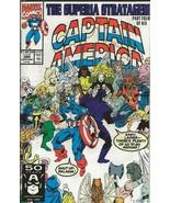 Captain America #390 ORIGINAL Vintage 1991 Marvel Comics - $9.89