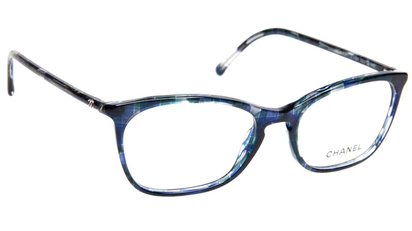 5c341cee80 New Chanel 3281 C. 1490 Blue Eyeglasses and 50 similar items