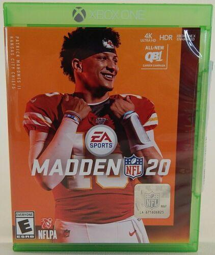 EA SPORTS Impazzire NFL 20 Standard Edizione Xbox Uno Console Video Gioco Disco - $12.48