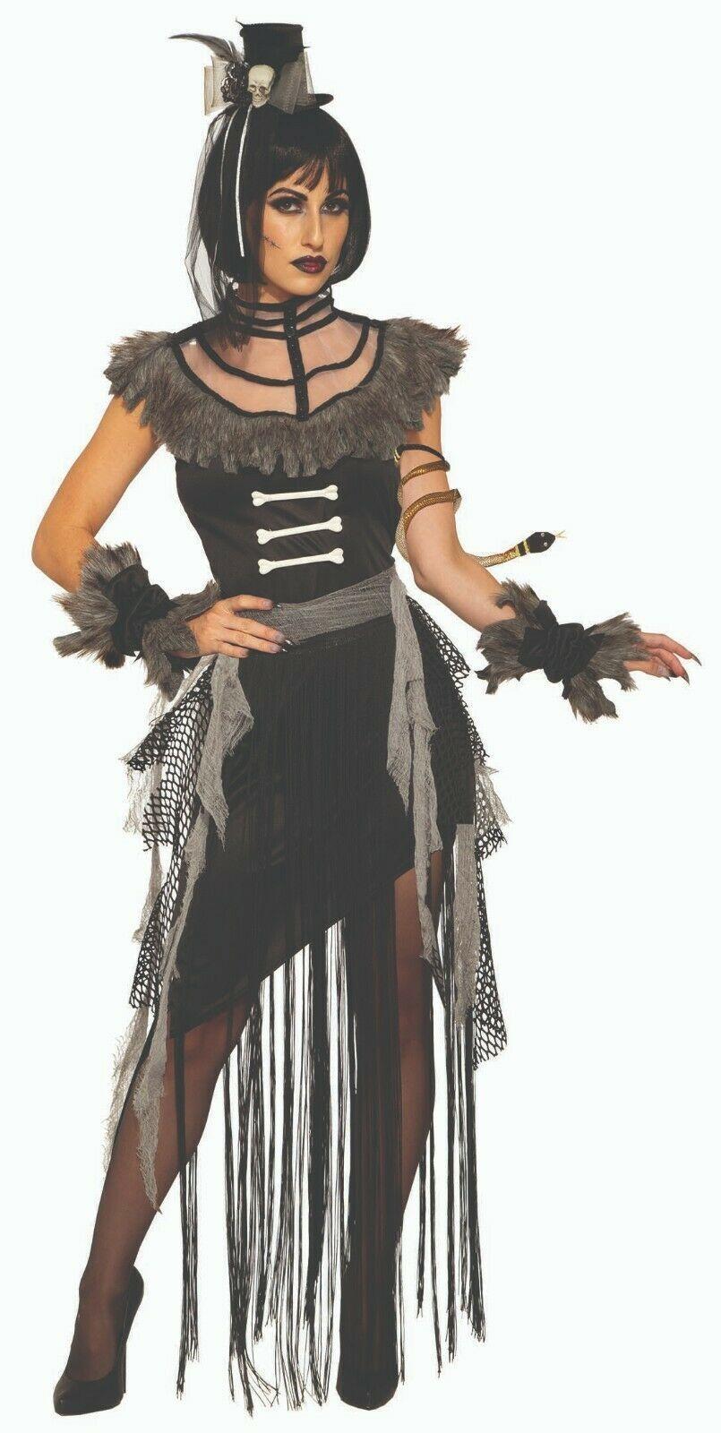 Forum Novelties Madame Hex Voodoo Hexe Arzt Erwachsene Halloween Kostüm 83342