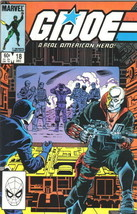 G.I. Joe A Real American Hero Comic Book #18 Marvel Comics 1983 NEAR MIN... - $19.26