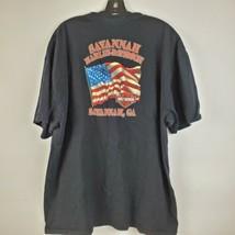 Harley Davidson Savannah Georgia Motorcycle Black T-Shirt Tee Mens Sz 2X... - $26.71