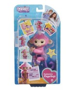 Fingerlings 2018 Tiffany Fashionista Monkey Pink, 3 Outfits, Toy Diaper ... - $11.11