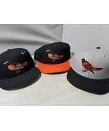 Baltimore Orioles Gorra Gorras New Era Auténtico MLB Set Of 3 Cal - $106.74