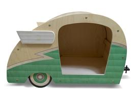 Retro Shasta Camper Dog Bed (Seafoam Green) - $299.00