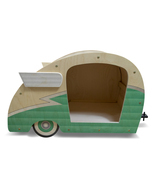 Retro Shasta Camper Dog Bed (Seafoam Green) - $299.00