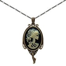 Skull Skeleton Necklace Heart Angel Jewelry Fairy Charm Fashion Antique ... - $46.47