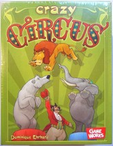 Board Game - Crazy Circus - Reaction Card Game Works Animals  - $24.99