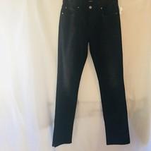 JOE'S BRIXTON JEANS Straight + Narrow Black Gray Stretch Denim Pants Men... - $963,57 MXN