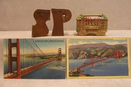 SOUVENIRS OF CALIFORNIA GOLDEN GATE BRIDGE SHAKERS - $10.84