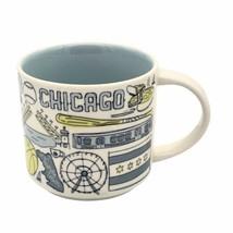 2018 Starbucks Been There Series Coffee Mug Chicago 14fl oz - $17.82