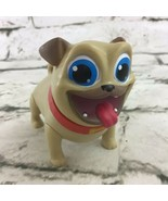 """Disney Junior Puppy Dog Pals Rolly Figure 3"""" PVC Cake Topper Cute Toy An... - $9.89"""