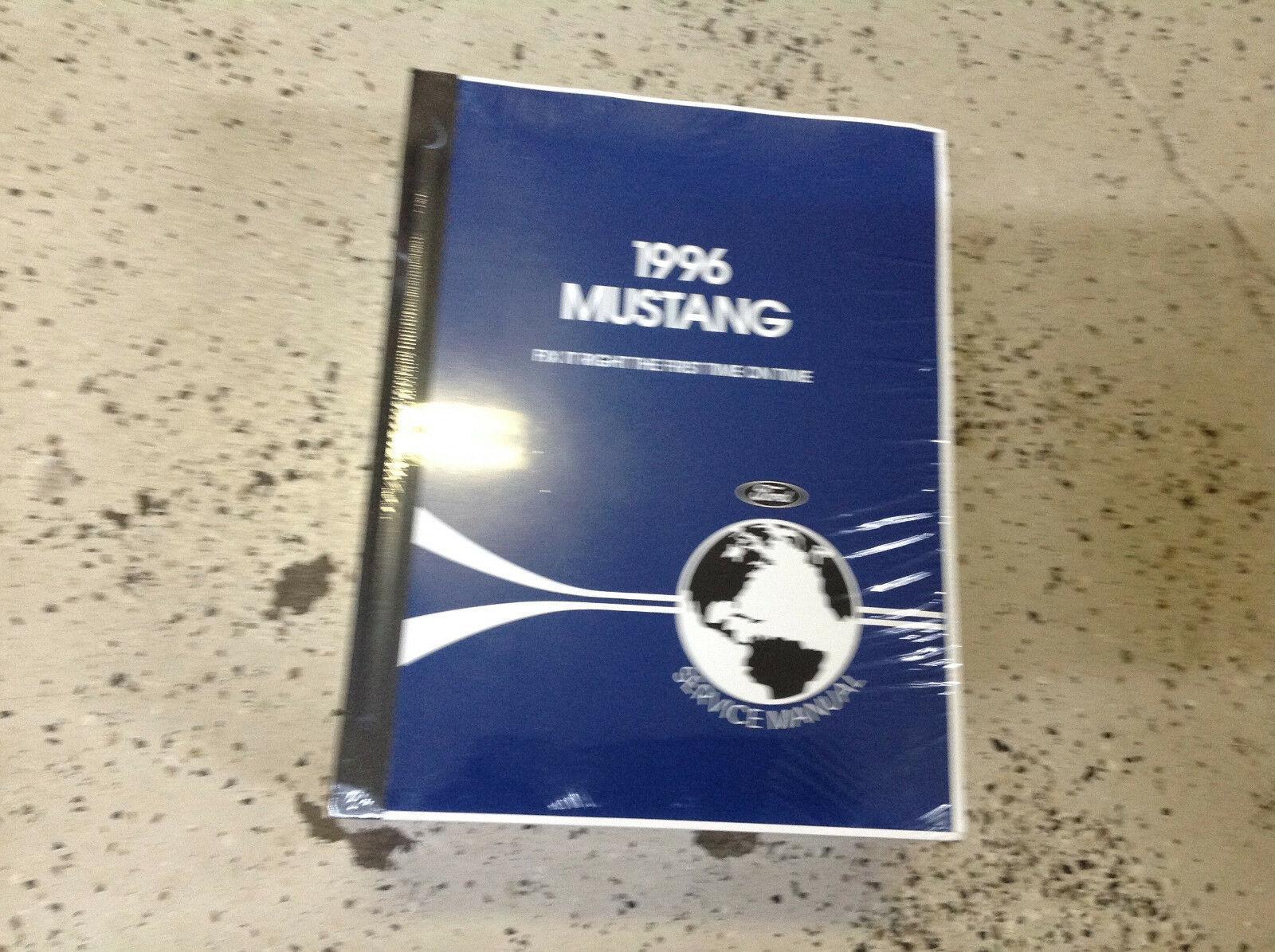 1996 Ford Mustang Gt Cobra Mach Service Shop Reparatur Werkstatt Manuell Neu image 2