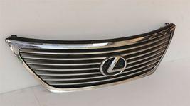 07-09 Lexus LS460 LS460L LS600H Upper Bumper Rad Chrome Grill Grille W/Emblem image 3